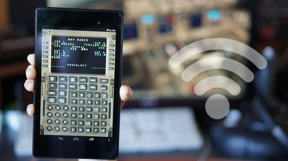 Captain Sim – 777 Wireless CDU for iPhone and Android