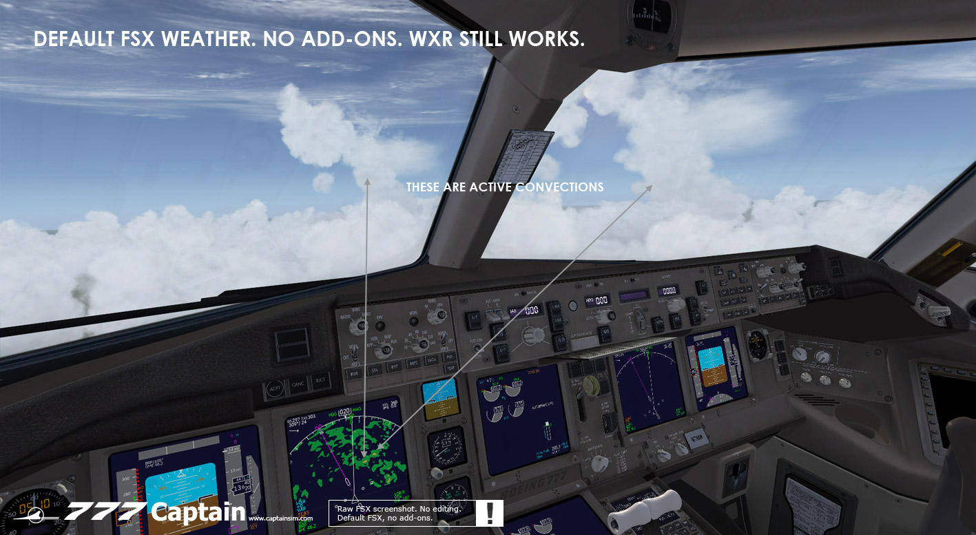 Wilco 777 X Weather radar